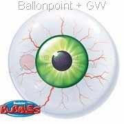B056-935 Bubbles , Strechy Plastic Balloon, price per ea