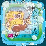 FOBM045-15744E Spongebob Spongebob - Kick'n Birthday  Folienballon Ø45cm