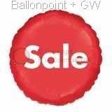 "FOBM045-15997  Foilballoon Round 45cm  (18"") Motiv Sale. price per ea"