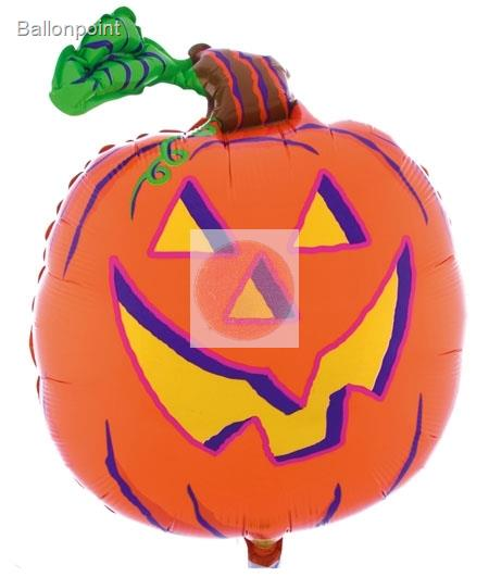 FOBF066-23066781B Pumpkin two Faces Helloween Party Jumbo Shape