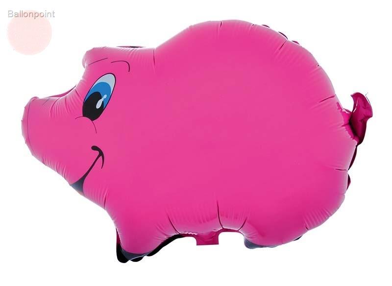 Schweinchen pink Figuren-Folienballon, 60cm Form BA ArtKat F351