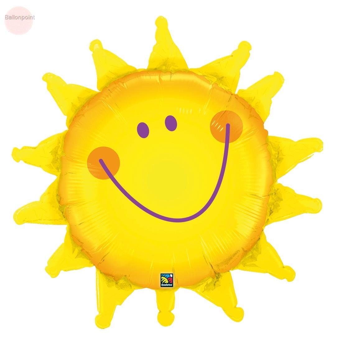 FOBF089-344Q Folienfigurballon Jumbo Shape lachender Sonnenschein