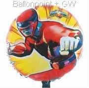 """FOBM045-45362E Power Ranger - Folienballon Ballongröße Ø45cm (18"""")"""