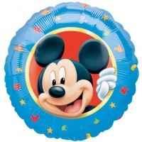 "Mickey Portrait 18"", M 18inch Rund Metallic Folienballon Ø45cm, in SB-Verpackung Art.Kat. F314"