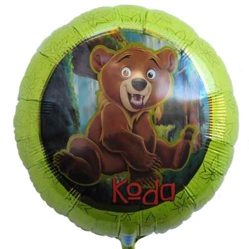 "Brother Bear 18"", M 18inch Rund Metallic Folienballon Ø46cm, unverpackt"