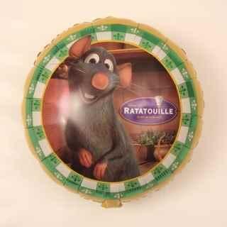 "Ratatouille 18"", M 18inch Rund Metallic Folienballon Ø46cm, unverpackt (F324)"