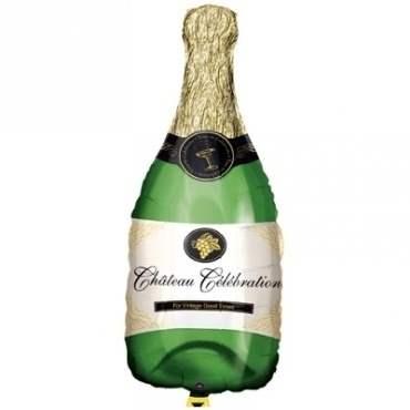 Champagnerflasche II, Folien Form II Art.Kat. F312