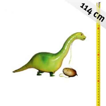 BrontoSaurus Langhals Airwalker,  Saurier Langhals , 114cn/46inch, ungefüllt inkl. Ballonband. Art.Kat F400