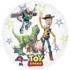 "Toy Story See Thru 24"", N 24inch Rund Non Metallic Folienballon Ø60cm, unverpackt (F324)"