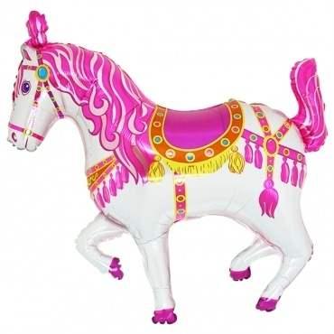 (#) Zirkuspferd pink II, Shape Folien Form II Art.Kat. F322