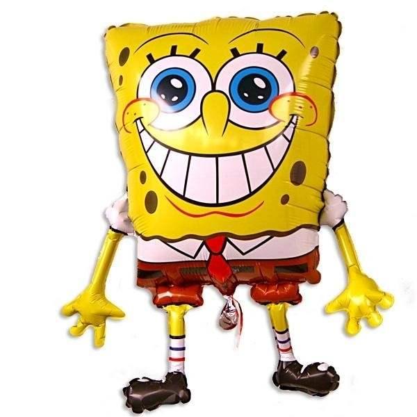 Sponge Bob,  Figuren-Folienballon non metallic, Form E  ArtKat  F311