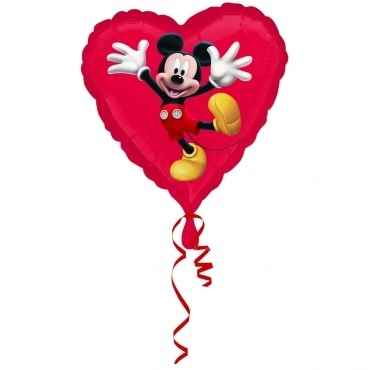(#) Mickey Dancing, M 18inch Metallic Folienballon Ø45cm