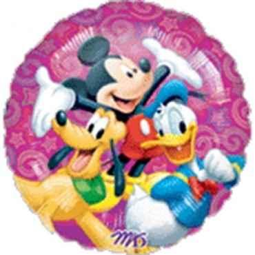 "Disney Familie 18"", M 18inch Rund Metallic Folienballon Ø45cm, in SB-Verpackung Art.Kat. F314"