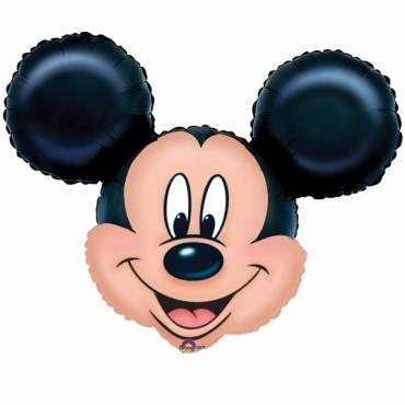 (#) Mickey II, Shape Form II Art.Kat. F322  Metallic Foilballoons