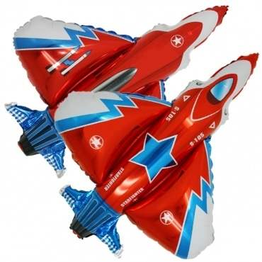 Starfighter, Figuren-Folienballon, Form E  ArtKat  F311
