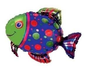 Fisch, Figuren-Folienballon, Form E  ArtKat  F311