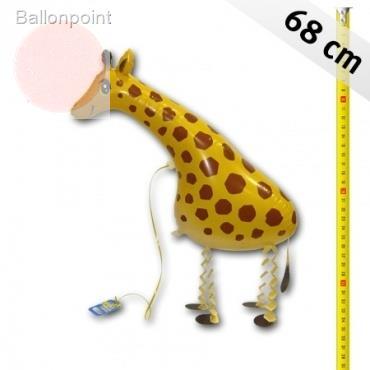 Giraffe Airwalker, Giraffe 68 cm groß, ungefüllt Art.Kat F400
