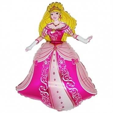 Prinzessin, Figuren-Folienballon, Form E  ArtKat  F311