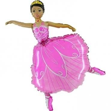 Ballerina pink, Figuren-Folienballon, Form E  ArtKat  F311