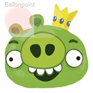 Angry Birds King Pig II, Shape Form II Art.Kat. F312  Metallic Foilballoons