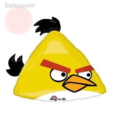 Angry Birds Yellow Bird, Shape Form II Art.Kat. F312  Metallic Foilballoons