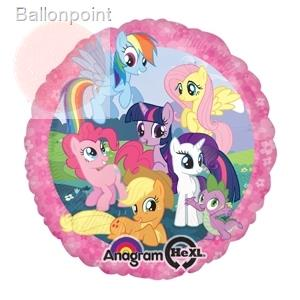 "My little Pony 18"", M 18inch Rund Metallic Folienballon Ø45cm, in SB-Verpackung Art.Kat. F314"