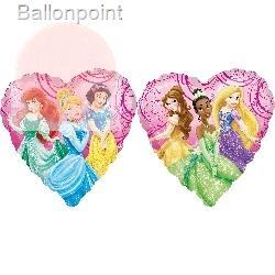 "Princess Garden 18"", M 18inch Rund Metallic Folienballon Ø45cm, in SB-Verpackung Art.Kat. F314"