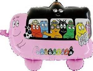 (#) Barbapapa Bus II, Folien Form II Art.Kat. F322