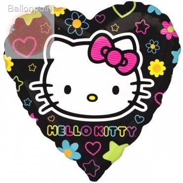 "Hello Kitty Tween 18"", M 18inch Rund Metallic Folienballon Ø45cm, in SB-Verpackung Art.Kat. F314"