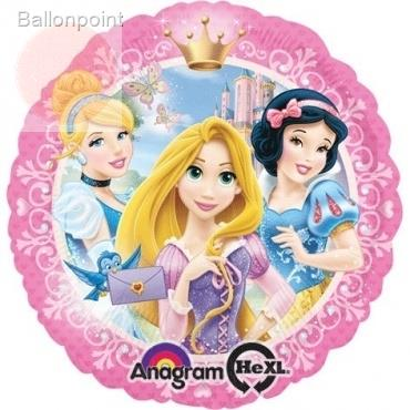 "Princess rund 18"", M 18inch Metallic Folienballon Ø45cm"
