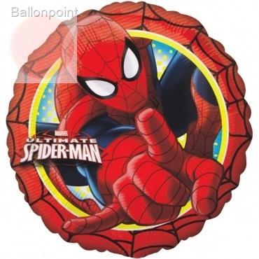 "Spiderman rund 18"", M 18inch Metallic Folienballon Ø45cm"