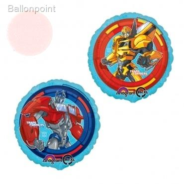 "Transformers 18"", M 18inch Rund Metallic Folienballon Ø45cm, in SB-Verpackung Art.Kat. F314"