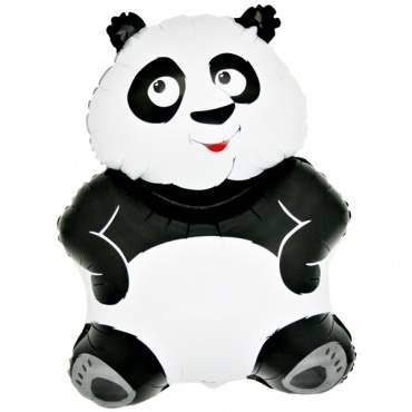 Panda  Figuren-Folienballon, Form E  ArtKat  F311