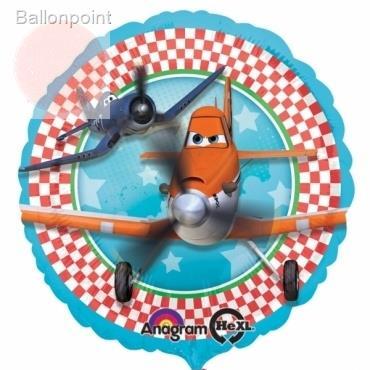 "Disney Planes 18"", M 18inch Metallic Folienballon Ø45cm"