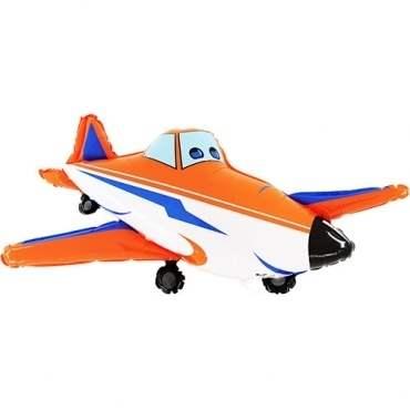 Sportflugzeug, Figuren-Folienballon, Form E  ArtKat  F311