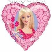 """FOBH045-5523E Motiv Barbie 45cm(18""""), Liebes Herz"""