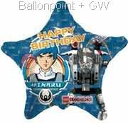 "FOBM045-665532E Lego Exoforce Stern Foili balloon 45cm  (18"") (Kategorie F260)"