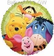 """FOBM045-5058E Folienballon Rund 45cm  (18"""") F260"""