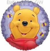 """FOBM045-5539E  Folienballon Rund 45cm  (18"""")"""