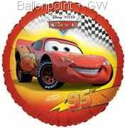 "FOBM045-665483E Disney Cars Folienballon Rund 45cm  (18"")"