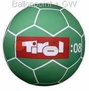 WR210PVC-02H Mini Indoor PVC-Folien Riesenballon Farbe nach Wahl, Ø~210cm individuell bedruckt