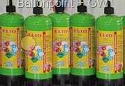 BG-01 Ballongas 1 l, (ca. 110 Liter ) Einwegflasche Typ UN 1046 Verdichtetes Gas 2.2 - Punkte 1