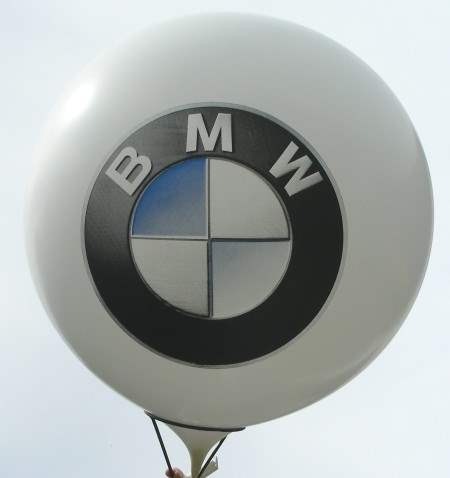 MR265-109-22H-AT03  BMW printed two site, Balloons WHITE