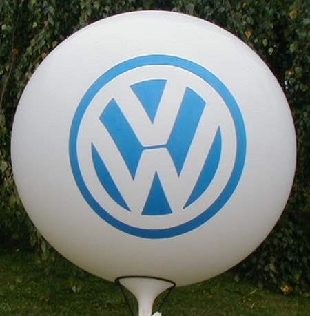 MR225-109-21H-G Ø~80cm emblem printed on two site, Balloons white