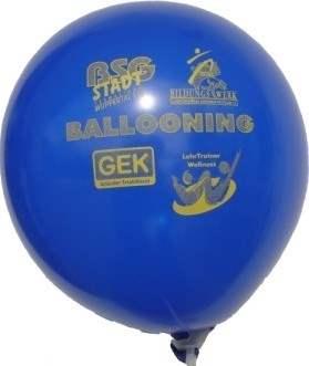 R120U-11-W 1seitig Individuell bedruckter Ballon Ø~40cm, extra stark