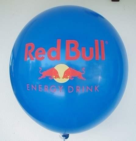 Ø 60cm 1-4seitig - 4farbig bedruckt - Ballonstutzen unten bzw. oben,  WR175-12-32 Riesenballon