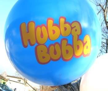 R350-23-W individual printed two site 3color, Balloons assorted