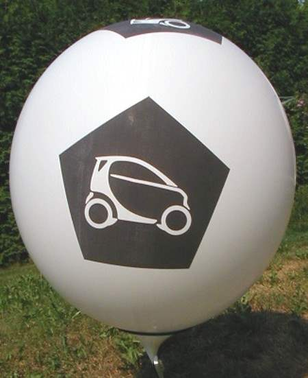 R225-52-W 5seitig Individuell bedruckter Riesenballon Ø~80cm