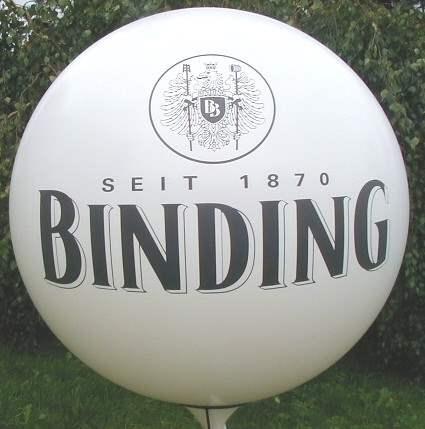 WR450-21H-5 5Stück Riesenballon Ø~165cm mit Ihrem Wunschaufdruck auf  zwei Seiten