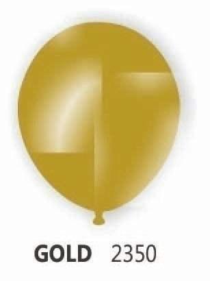 Ø 33cm    metallic GOLD Rundballon Nennweite 33cm/12inch Modell R100T, Packung zu 100 Stück